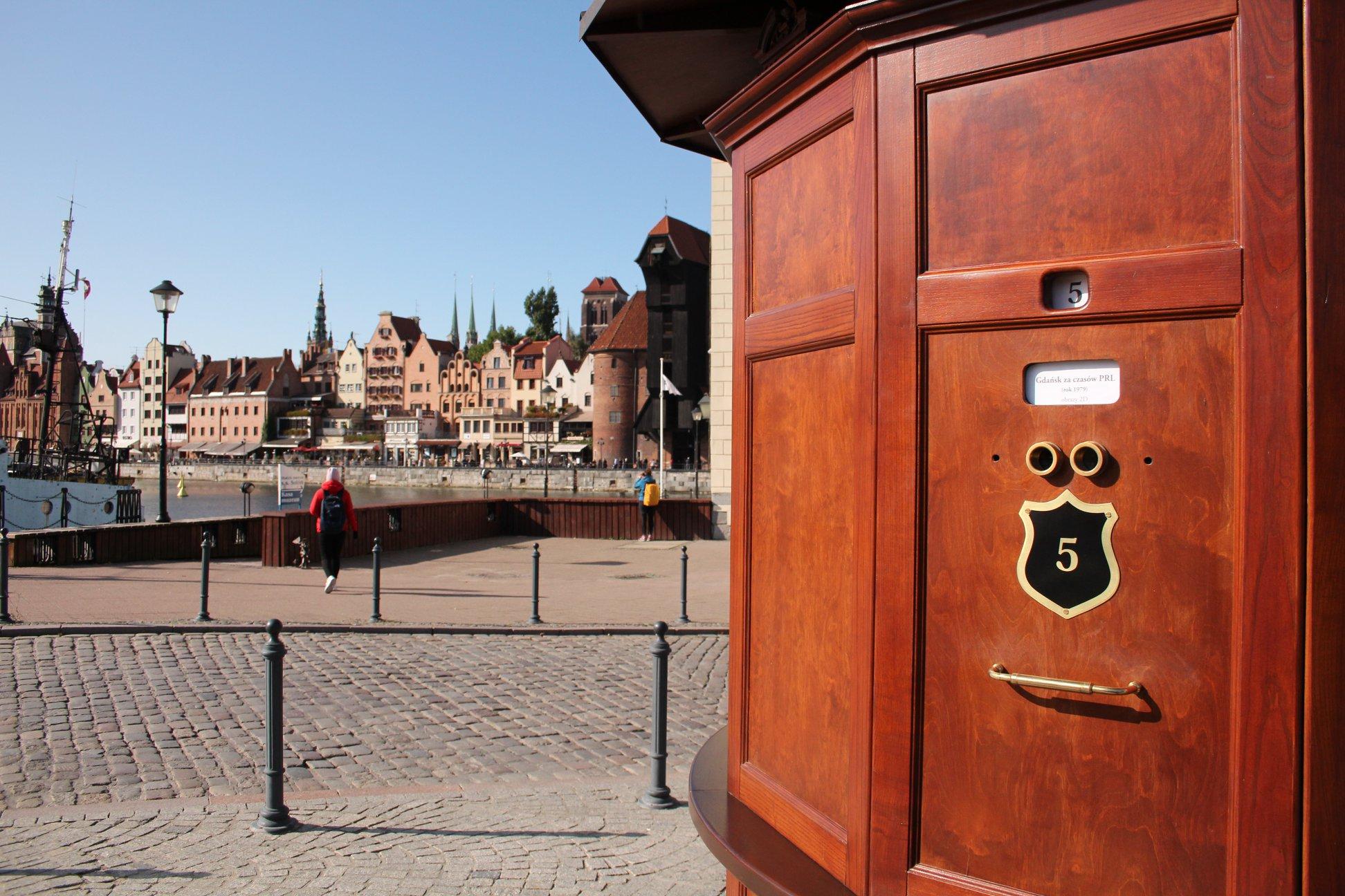 Street kaiserpanorama in Gdansk